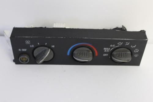 1998-2002 Chevy Expess  A/C Heater Climate Control 16238435