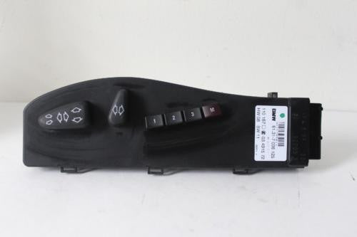 2004-2007 BMW X3 DRIVER SIDE SEAT MEMORY CONTROL SWITCH