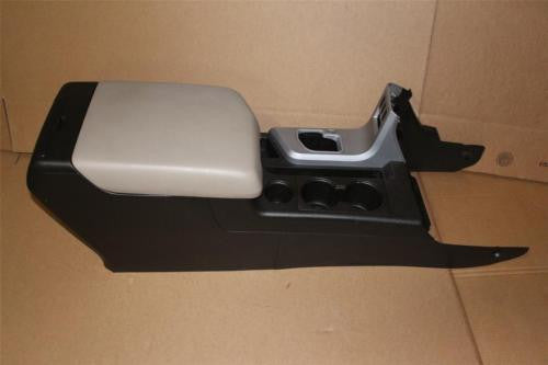 2007-2012 TOYOTA TUNDRA CENTER CONSOLE STORE WITH tan LID