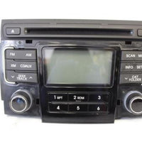 2011-2012 Hyundai Sonata Xm Radio Stereo Am/ Fm Cd Player 96180 3Q001
