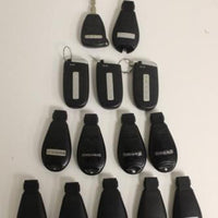 Lot Of 15 Dodge Ram  Key Fob Remotes Smart Keys