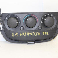 2005-2009 Chevy Uplander Teeaza A/C Heater  Climate Control 15256190