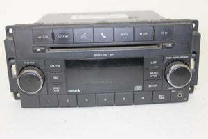 2007-2010 Chrysler Dodge Jeep Radio/Cd Player P05091115Ac