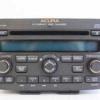 2005-2006 ACURA MDX RADIO STEREO AM/ FM 6 DISC CHANGER CD PLAYER 39100-S3V-A620