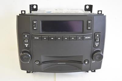 2004-2007 CADILLAC CTS STEREO RADIO CD PLAYER 15280955