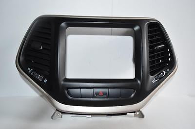 2014-2016 JEEP CHEROKEE DASH RADIO DISPLAY BEZEL W/ AIR VENT