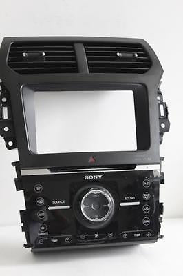 2011-2012 Ford Explorer Radio Face Control Panel Bb5T-18A802-Cj