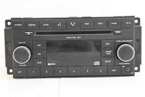 2007-2010 DODGE AVENGER RADIO STEREO 6 DISC CHANGER CLIMATE CONTROL