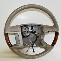 2007-2010 LINCOLN NAVIGATOR DRIVER STEERING WHEEL 7L74 3F563 DN