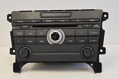 2007-2009 MAZDA CX-7 RADIO STEREO 6 DISC CHANGER  CD PLAYER EG23 66 AR0