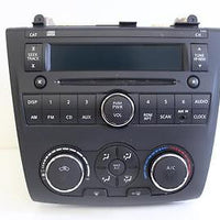 2010-2012 NISSAN ALTIMA RADIO STEREO CD PLAYER CLIMATE CONTROL