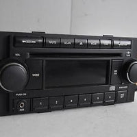 2004-2010 Chrysler Dodge Jeep Radio Stereo Mp3 Cd Player P05064171Ae