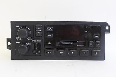 CHRYSLER CORPORATION RADIO STEREO TAPE CASSETE PLAYER P04858534