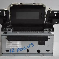2012-2013 FORD FOCUS RADIO CD PLAYER INFORMATION DISPLAY SCREEEN AM5T-18B955-AF