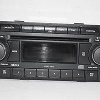 2004-2010 CHRYSLER JEEP DODGE RADIO STEREO 6 DISC CHANGER MP3 CD PLAYER