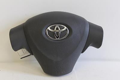 TOYOTA COROLLA DRIVER STEERING WHEEL AIR BAG GREY