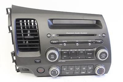 2006-2011 Honda Civic Radio Stereo Mp3 Cd Player 39100-Sva-A20