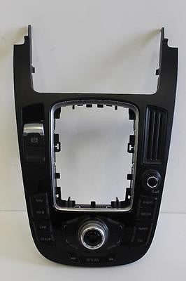 2009-2016 AUDI A4 Q5 CENTER CONSOLE RADIO NAVIGATION CONTROL PANEL 8T0 919 609