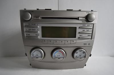 2007-2011 TOYOTA CAMRY RADIO STEREO WMA MP3 CD PLAYER 86120-06480