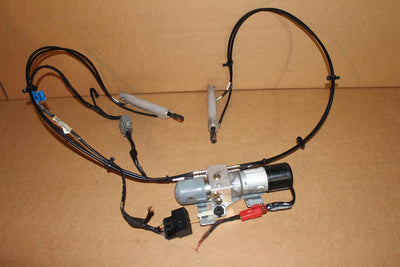Chrysler PT Cruiser Convertible Folding Top Hydraulic Motor Pump Lines Cylinders
