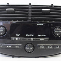 2004-2010 Toyota Sienna A/C Climate Control W/Out Sonar Option Gn711-03810