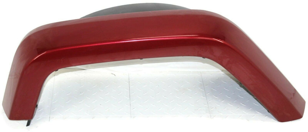 2007-2018 Jeep Wrangler Passenger Right Side Painted Rear Fender Flare Red