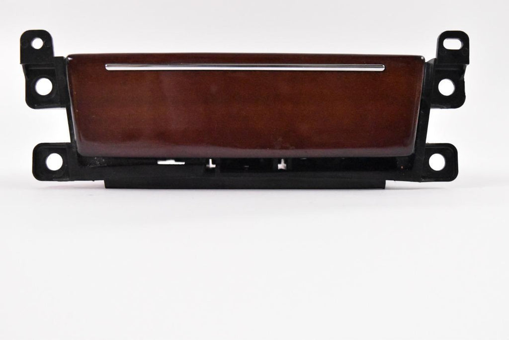 2005-2009 CADILLAC STS FRONT CENTER LOWER DASH ASH TRAY WOODGRAIN