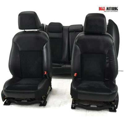 11-18 Dodge Charger RT Front & Rear Seat Set Leather/ Suede SEATS