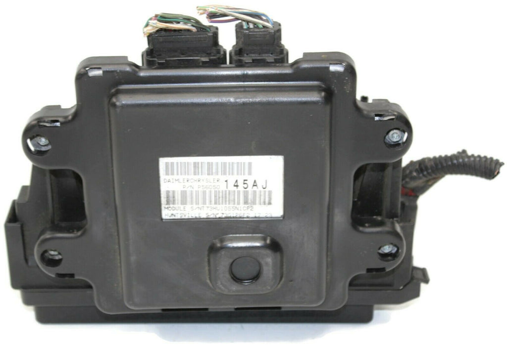 2005-2007 jeep cherokee bcm integrated fuse box module 04692071ab