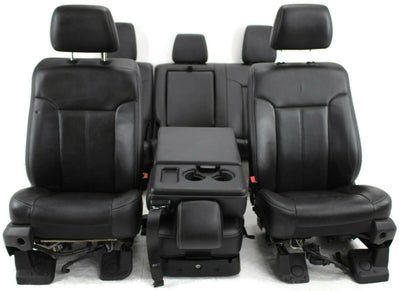 2011-2016  Ford F250 Front & Rear Passenger & Driver Side Jump Seat Set
