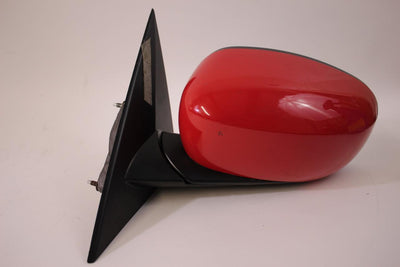 2006-2010 DODGE CHARER DRIVER LEFT SIDE POWER DOOR MIRROR RED