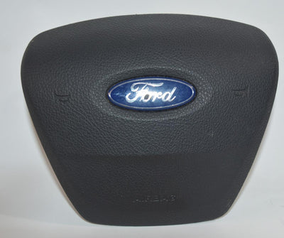 2015-2018 FORD FOCUS DRIVER STEERING WHEEL AIR BAG BLACK