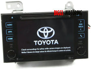 2016-2019 Toyota Tacoma Navigation Touch Screen Radio Cd Player 86100-08032