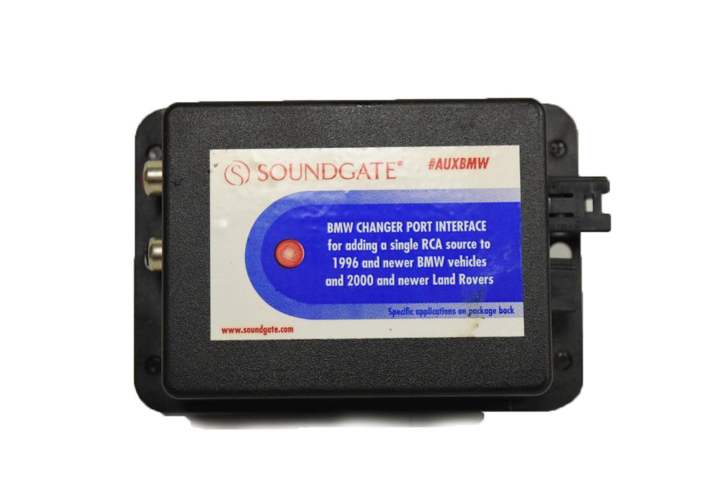 2003-2008 BMW Z4 E85 E86 SOUNDGATE RADIO INTERFACE