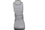 11-16 HONDA ODYSSEY PLUS ONE JUMP SEAT LEATHER LIGHT GREY 12 2ND ROW + ONE