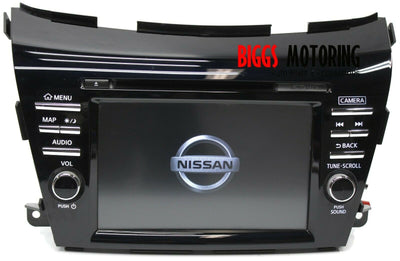 2017-2019 Nissan Murano Radio Navigation Cd Player Display Screen Camera