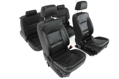 14-19 Chevy Silverado Sierra Seats Seat Leather power heat & cool memory black