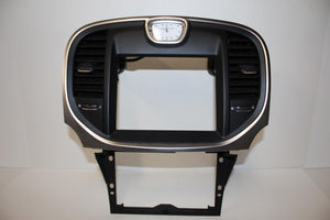 2011-2014 CHRYSLER 300 CENTER DASH RADIO CLOCK BEZEL 68148614AA