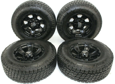 Chevy Silverado  Sierra HD 2500 3500 8 Lug LT295/ 70R18 Grappler Wheels & Tires