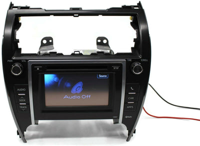 2012-2013 TOYOTA CAMRY P10067 RADIO STEREO MAP TOUCH SCREEN  86140-06020