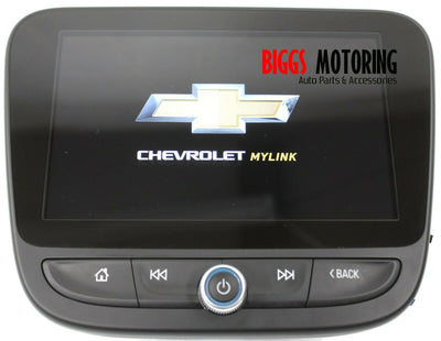 2015-2018 Chevy Malibu Radio Receiver Touch 8'' Display Screen 84305071