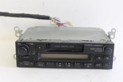 1998-2002 TOYOTA COROLLA RADIO STEREO TAPE CASSETTE PLAYER 86120-04090