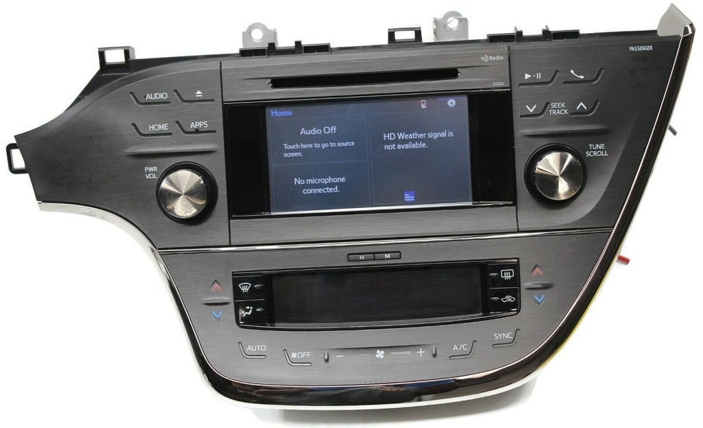 2013-2016 Toyota Avalon Radio MP3 Cd Player Touch Screen Ac Control