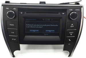 2016-2017 Toyota Camry Stereo Radio Cd Player Touch Screen 86140-06660
