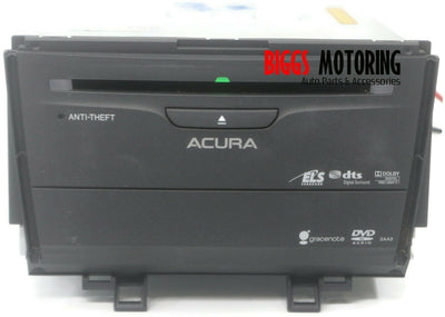 2011-2014 Acura TSX Radio Stereo Cd Dvd Player 39540-TL2-A520-M1