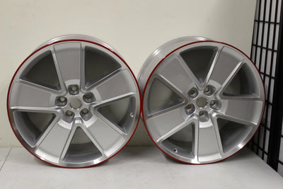 2010-2013 GM CHEVROLET CAMARO SS OEM 21x9.5jx43 WHEELS RIMS FACTORY PAIR