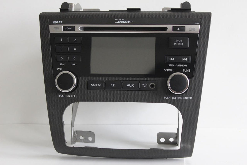 2010-2012 NISSAN ALTIMA BOSE RADIO STEREO MP3 AUX IN CD PLAYER 28185 ZX00B