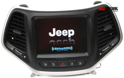 2014-2017 Jeep Cherokee Uconnect Touch 8.4 Display Screen 68238621AF +CODE 0510