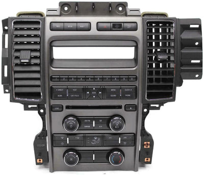 10-12 FORD Taurus Center Dash Radio W/Climate Control AG1T-18A802-AB