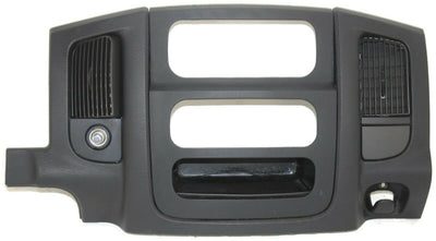 2002-2005 Dodge Ram 1500 2500 Dash Radio Bezel W/ Air Vents 1000252TRMAA